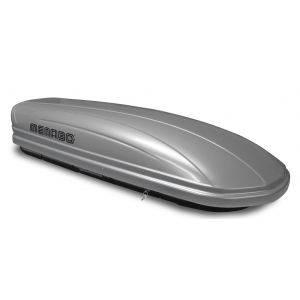 Cutie portbagaj Menabo Mania 460 ABS Silver, 195x79x36cm