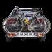 Suport biciclete Fabbri Bici Exclusiv Deluxe 3 pentru 3 biciclete/ 2 biciclete electrice cu prindere pe carligul de remorcare