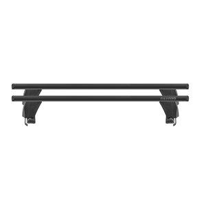 Bare transversale Menabo Delta Black pentru Nissan Micra (K14), 5 usi, model 2017+